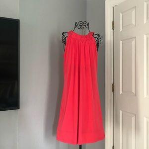 Beautiful Coral Calvin Klein dress